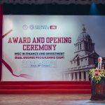 Bài phát biểu của Viện trưởng Viện Đào tạo Quốc tế – Học viện Tài chính tại Lễ Khai giảng năm học 2020-2021 và Trao bằng Tốt nghiệp cho các Tân Thạc sỹ Tài chính và Đầu tư (MSc in Finance and Investment) và Tân Cử nhân DDP Mỗi bên cấp Một Bằng Cử nhân (Dual Degree Programme)