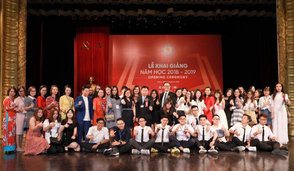 Lễ khai giảng 2018-2019 DDP
